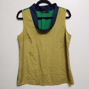 The Limited Colorblock Vintage Look Tank Top, sz M
